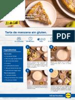 PASO a PASO 2018 - Bienestoy 31 - Tarta de Manzana Sin Gluten