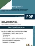 Sales Force Management Course Taster