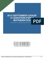 ID4b40b6b8f-2013 september grade 12 question paper mathematics