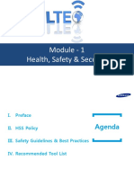 Health, Safety & Security - Polilcies & Guidelines