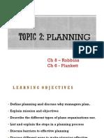 Topic 2 Planning(1)