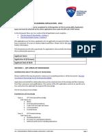 ACS Project Report Form Sample