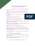 Bibliographie Projet. Dictionnaire Des Figures Et Mythes Litteraires Des Ameriques