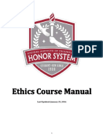 Ethics Course Manual Old