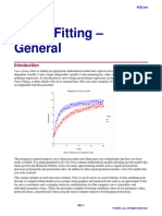Curve Fitting General