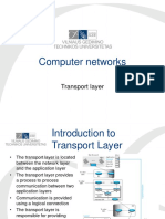 Lecture 12-13. Transport Layer