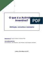 Guia - O que é a Actividade Inventiva?