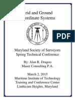 Grid vs Ground Coordinate System