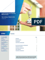 Item7 KPMG Audit Strategy Planning Memorandum