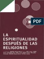 varios autores - la espiritualidad despues de las religiones.pdf