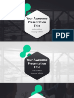 Awesome Workflow Layout, Process, Annual Report, Business Slide in Microsoft Office PowerPoint (PPT)