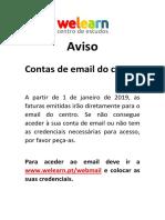 Aviso Email