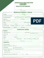 formulario coohem