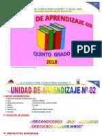 UNIDAD DE APRENDIZAJE  5° ABRIL 2018.docx