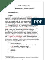 Gender and University(2)