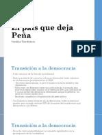 El país que deja Peña_Sesión18