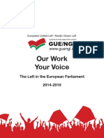Our work, Your voice (Izquierda Unitaria)