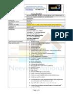 Company Data Sheet Application Import