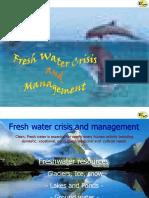Fresh Water Crisis