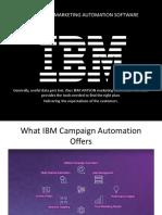 IBM Marketing Automation