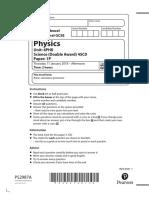 Edexcel Paper