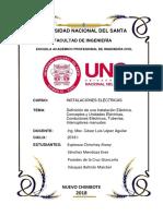 Informe de Instalaciones Eléctricas.docx
