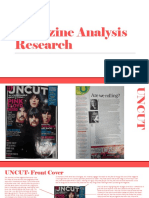 Magazine Analyses Research