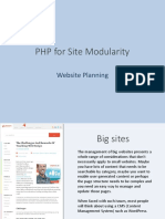 Class 01 - PHP for Site Modularity