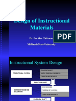 Designing of Instructional Materials