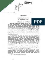 David Riazanov, Bakuniana, Archiv Für Die Geschichte Des Sozialismus Und Der Arbeiterbewegung, Band 5 (1915) H. 1-2.- S. 182-199.