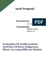 antithrombotic synopsis.pptx