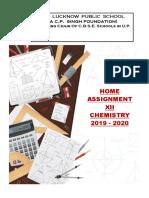 Holiday Homework Class XII Chemistry.pdf
