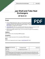 GP-06!01!01 TEMA Type Shell-And-Tube Heat