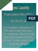 7 Process Capability