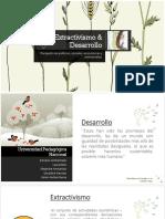 Extractivismo & Desarrollo