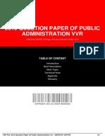 IDf1b9b8789-2013 question paper of public administration vvr