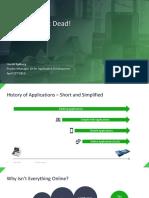 Desktop Applications - The Qt Perspective