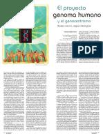 el proyecto genoma humano y el genocentrismo -orlando mejia Rivera- Revista universidad de Antioquia.pdf