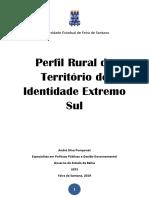 Publicação Perfil Rural Extremo Sul