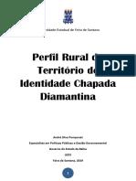 Publicação Perfil Rural Chapada Diamantina