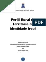 Publicação Perfil Rural Irecê