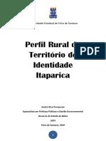 Publicação Perfil Rural Itaparica