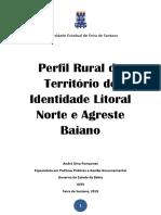 Publicação Perfil Rural Litoral Norte e Agreste Baiano