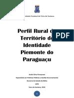 Publicação Perfil Rural Piemonte Do Paraguaçu