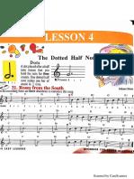 Recorder Lesson 4