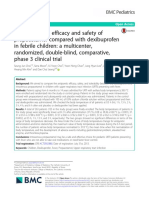 The antipyretic efficacy and safety of propacetamol compared with dexibuprofen.pdf