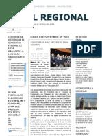 01-11-2010 Perfil Regional de Guaymas