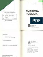 CRETELLA JR., J. Empresa Pública. Pp. 199-241