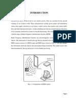 Report on RFID