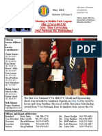 Chapter 776 May 2019 Newsletter